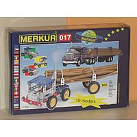 Конструктор металлический Меркур 017 Грузовые Автомобили