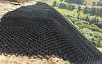 Георешітка (геоячейка) об'ємна стільникова конструкція висота 10 см (16х16 мм), фото 3