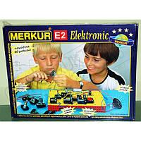 Конструктор металлический Меркур Е2 Электро-Набор