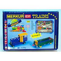 Конструктор металлический Меркур 031 Грузовой Поезд