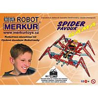 Конструктор металлический Меркур Робот-паук