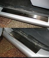 Накладки на пороги Citroen C3 2002- 4шт. premium