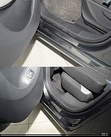 Накладки на пороги Citroen C3 Picasso 2009- 8шт. premium