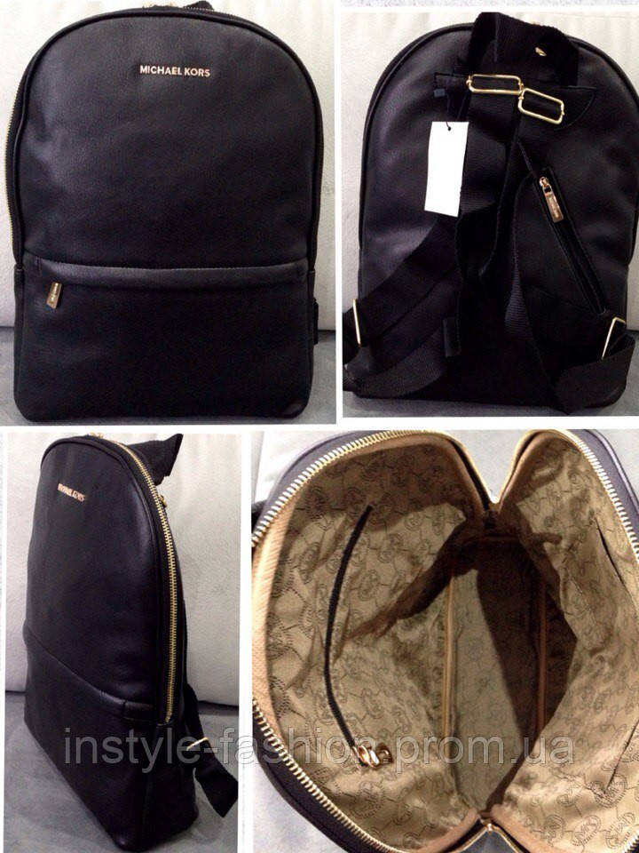 6e1434b805c0 Рюкзак женский брендовый сумка Michael Kors Майкл Корс черный , фото 2