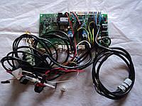 Плата газового котла в сборе с датчикам и электродом розжига