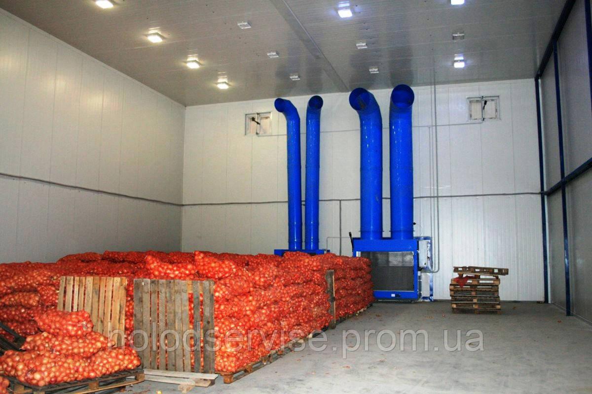 """Овощехранилище под ключ в Крыму. Хорошие цены. Высокое качество. - """"Крымхолодсервис"""" в Симферополе"""