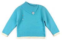 Вязаный детский свитер из ангоры для девочки на 104-110 р.