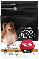 Сухой корм Pro Plan Adult Medium для взрослых собак средних пород 3 кг