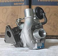 Турбокомпрессор ТКР  KP-35. Автомобиль Renault Kangoo II 1.5 dCi. Двигатель: K9K.