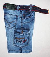 Джинсовые шорты на мальчика оптом  3,4,6,7 лет