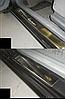 Накладки на пороги Daewoo Lanos 5D 1997- 4шт. premium