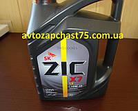Масло моторное ZIC X7 LS 10W-40 полусинтетика  4л.  Производитель Южная Корея