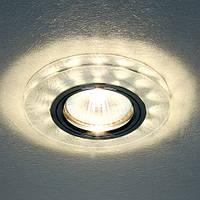 Точечный светильник Feron 8686-2 с LED подсветкой