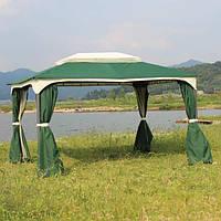 Садовый тканевый павильон 3х4 м Green