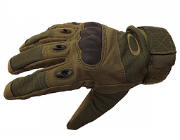 Тактические армейские перчатки «Oakley» (Oakley Factory Pilot Glove W/Leather palm)