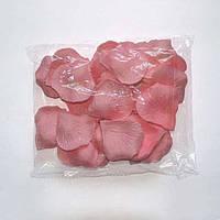 Лепестки роз искусственные (розовые) 600 шт