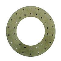 Накладка диска сцепления 350х200х4,7мм КАМАЗ сверленная (Трибо), 14.1601138