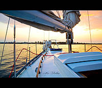 Речные круизы по Днепру на яхте Цементал