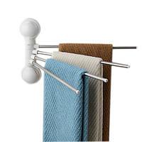 Тримач для рушників 4 bar towel rack with suction cup