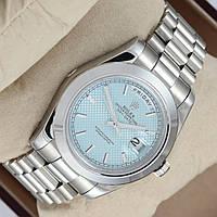 Мужские механические наручные часы Rolex Day Date на металлическом браслете, фото 1