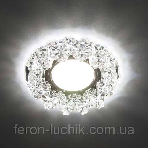 Купить Точечный светильник Feron CD2542 с LED подсветкой