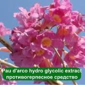 Pau d'arco hydro glycolic extract – противогерпесное средство, 100 грамм