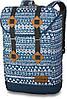 Симпатичный мужской рюкзак для прогулок Dakine TREK 26L mako 610934902211 синий/белый
