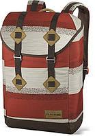 Надежный мужской рюкзак в полоску для учебы Dakine TREK 26L sediment 610934970265 терракота