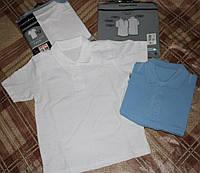 Детская футболка-поло Giorgio (США), унисекс, белая