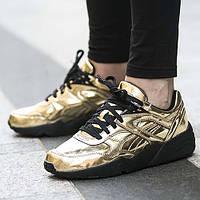 Кроссовки Puma Vashtie R698 Trinomic Gold женские