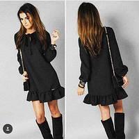 Модное женское платье Рюшечка 2016