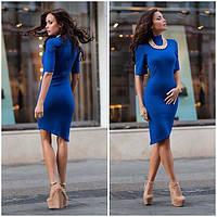 Модное женское трикотажное платье Лючия