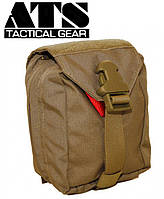 Подсумок медицинский ATS Tactical Gear Small Medical Pouch - Coyote Brown