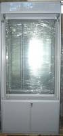 Торговая выстовочная витрина (стеклянная) новая 50х100х220 см