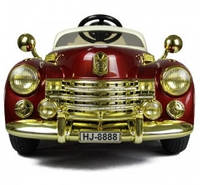 Детский электромобиль Bentley 8888, цвет бордовый