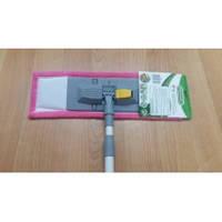 Полотер-микрофибра-40см с металической ручкой 110см