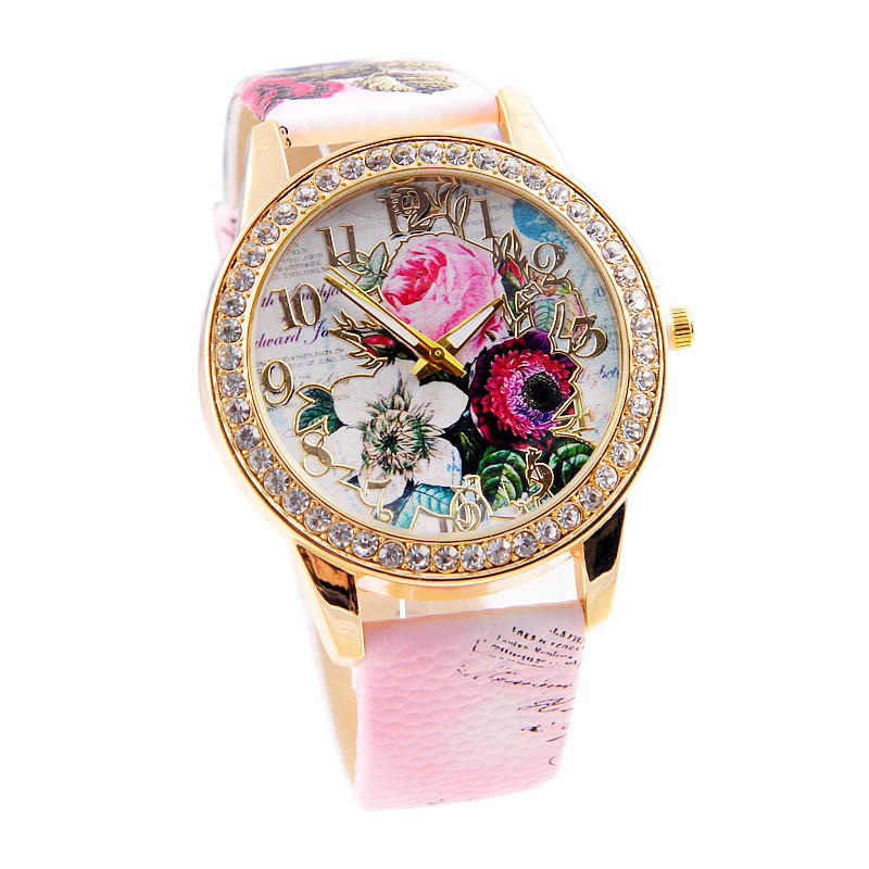 Часы женские кварцевые Blume Romantik creme