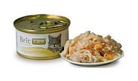 Brit Care Cat k 80g, куриная грудка и сыр - консервы для кошек