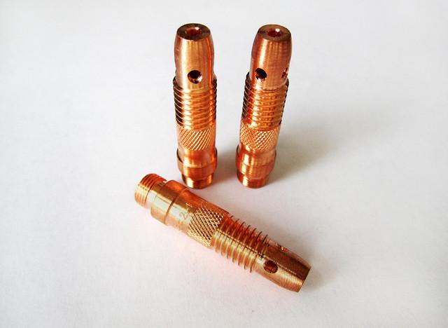 Корпус зажимной втулки (держатели цанг) для горелок TIG