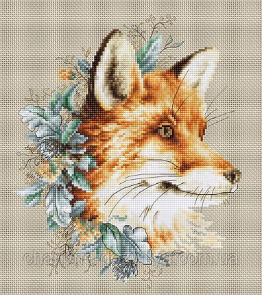 """Набор для вышивания крестиком (животные) """"Лисица"""", фото 2"""