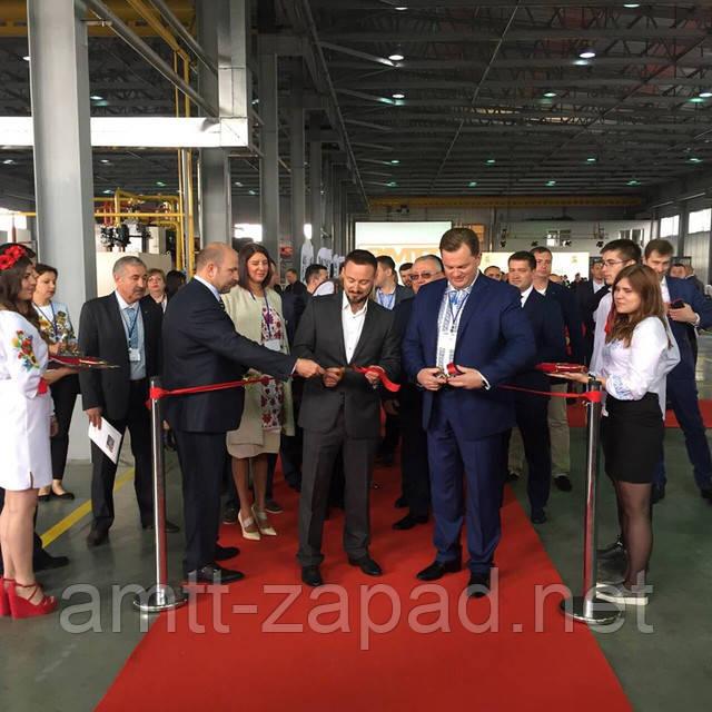 Церемонія відкриття цеху екструзії алюмінієвого профілю. Значна подія для нашого заводу!