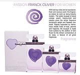 Женская оригинальная парфюмированная вода Franck Olivier PASSION, 75ml NNR ORGAP /2-41, фото 4