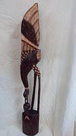 Статуэтка Пеликан деревянная высота 100 см
