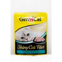 Gimpet Shiny Cat Filet pouch, c тунцом и креветками, 70гр