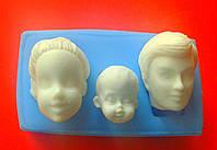 Молд лица семья 2