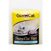 Gimpet Shiny Cat pouch  с тунцом и крабом, 70гр