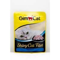 Gimpet Shiny Cat pouch, с тунцом, 70гр