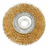 Щетка-крацовка дисковая (латунь) 125х22.2