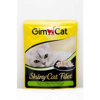 Gimpet Shiny Cat Filet pouch, c курицей и папайей 70гр