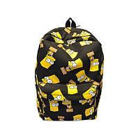 """Рюкзак """"Барт Симпсон"""", рюкзак с Симпмонами"""